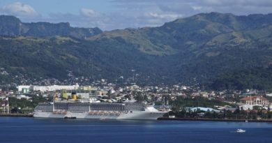 Cruise Ship Costa Atlantica is again back in Subic Bay