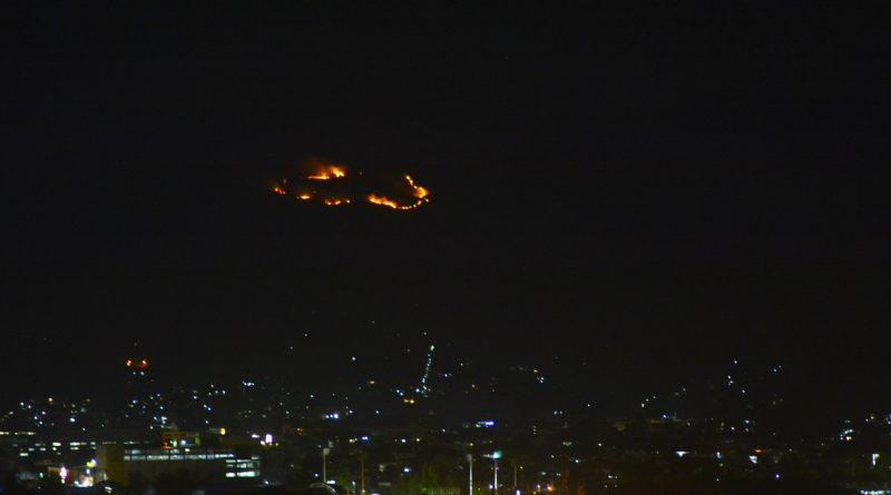 Forest Fire in Southern Zambales Mountain
