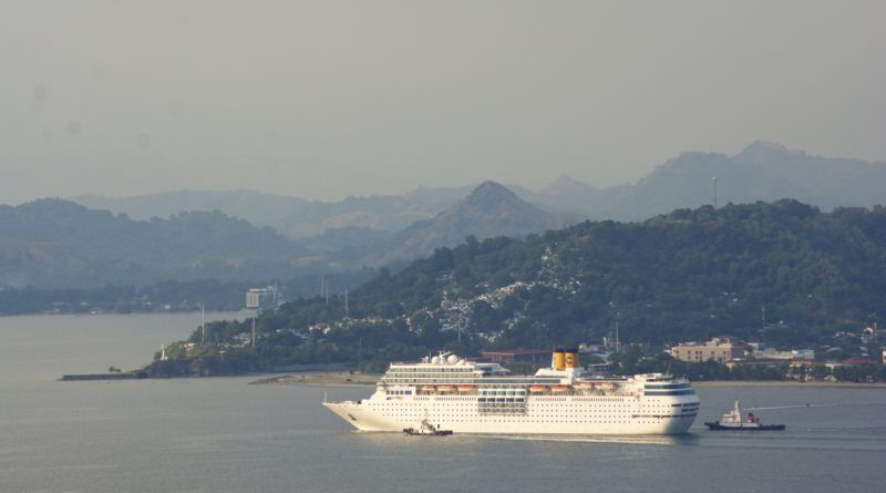 Subic Welcomes Italian Cruise Ship's Maiden Voyage