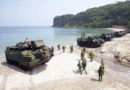 Japanese, Philippines and U.S. Marines conduct amphibious landing