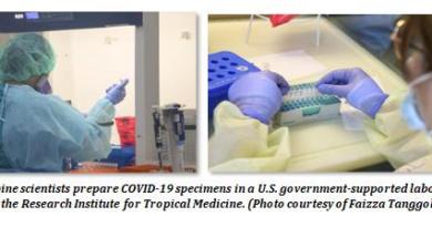 U.S. Assistance To Ph VS COVID-19 Tops P470 Million