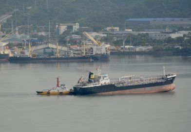 Oil Tanker Catches Attention