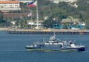 PRC Ship Leaves Subic For Humanitarian Mission To Catanduanes