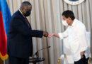 U.S. Secretary of Defense  welcomes  Recall of  VFA  Abrogation