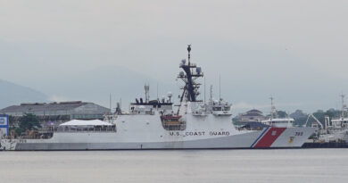 Ph, US Coast Guards In Joint Maritime Exercise Off Subic Bay